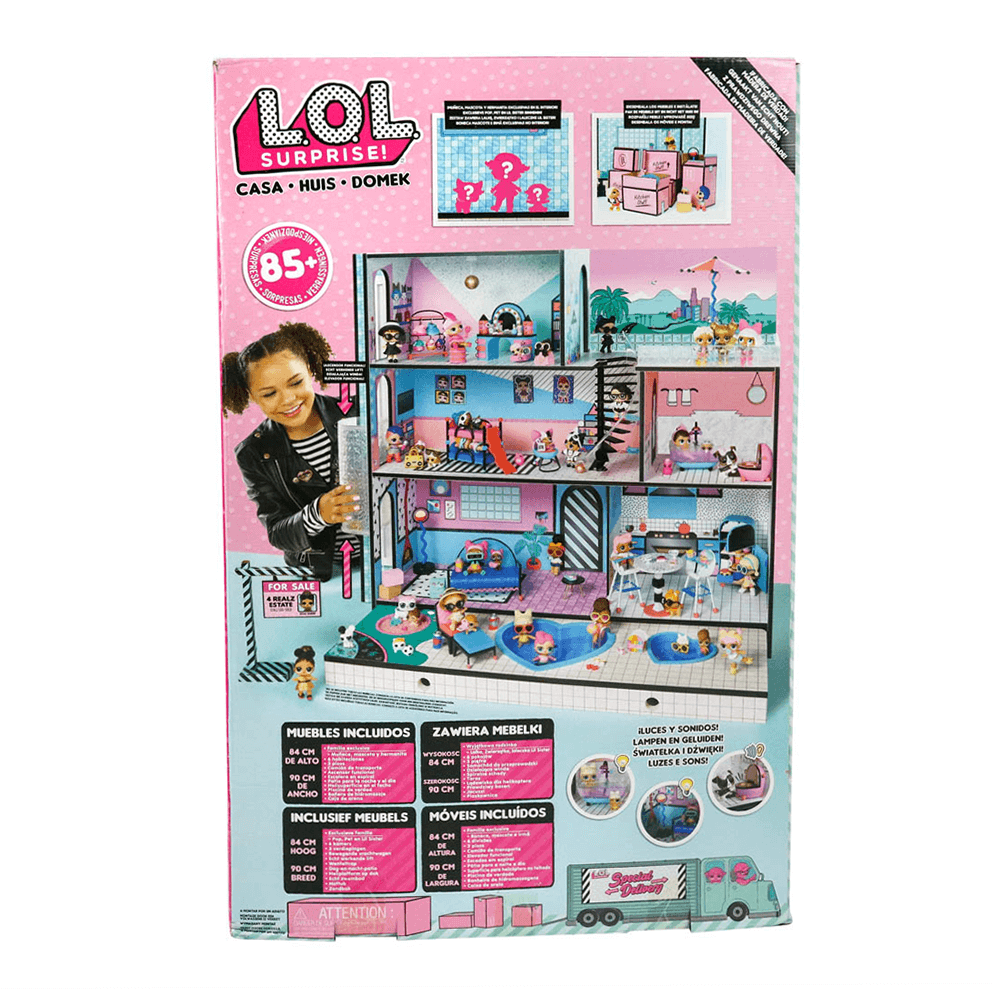 Кукла LOL Surprise Doll House (ЛОЛ Дом кукол)